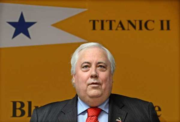 Australian mining magnate Clive Palmer announces his plans to build a new Titanic.