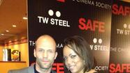 Tania On Scene :  Jason Statham Red Carpet