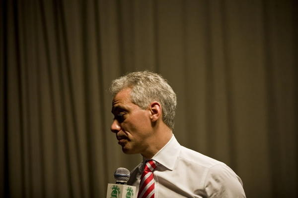 Mayor Rahm Emanuel, seen here last week, unveiled his ethics reform task force report today.