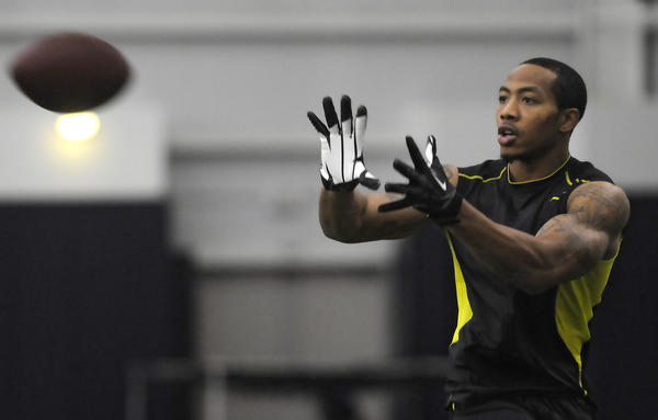 Kaskif Moore, at UConn Pro Day, now finds himself a pro. He signed a free agent deal with Cincinnati.