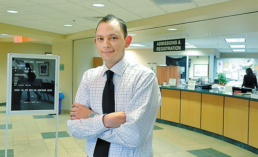 Luis Flores is the multicultural recruiter at Hagerstown Community College.