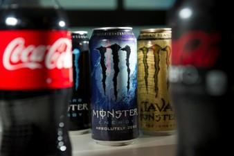 Soda and energy drinks.