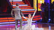"Derek Hough and Maria Menounos, shown here from last week's Motown episode, continued to dance well on this week's ""Dancing with the Stars."""