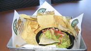 Lime Fresh Mexican Grill's guac