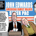 John Edwards is a creep, not a criminal