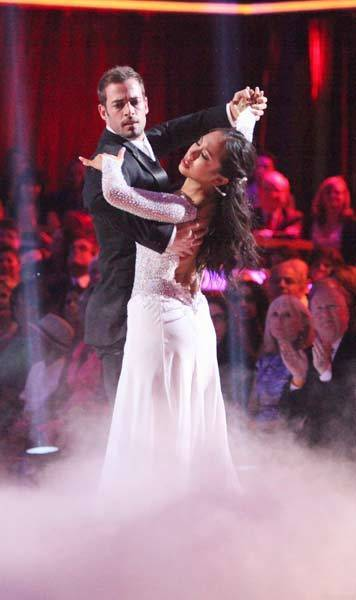 "William Levy and Cheryl Burke compete on Classical Week of ""Dancing With the Stars."""