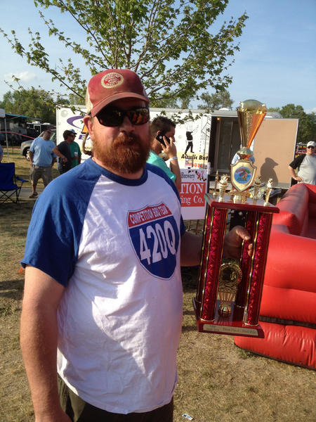 Hempen Hill BBQ Bar & Catering owner Jay Reeder and the competition barbecue team 420Q were named Maryland State Champion and Grand Champion at Pork in the Park BBQ Festival in Salisbury, Md.