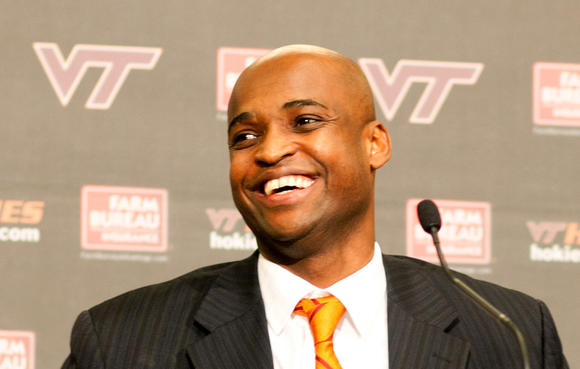 Virginia Tech introduced its new men's basketball head coach at a news conference in Blacksburg on Tuesday, May 1, 2012.