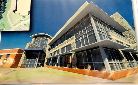 Senior Center rendering