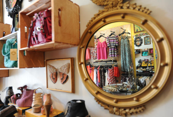 New boutiques, like Federal Hill's Brightside, offer on-trend fashions with price points at $100 or less.