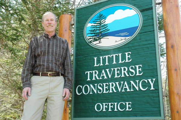 Tom Bailey, executive director of Little Traverse Conservancy, will be inducted into the first-ever Michigan Environmental Hall of Fame today in Grand Rapids. The Muskegon Environmental Research & Education Society will give the honor.