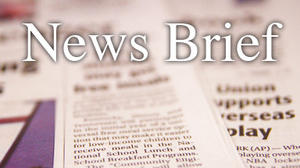 News Briefs for May 2
