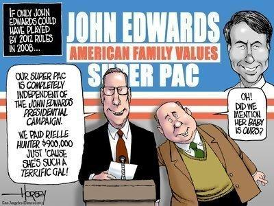 John Edwards: The family values candidate