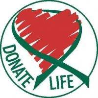 Facebook 's organ donation logo