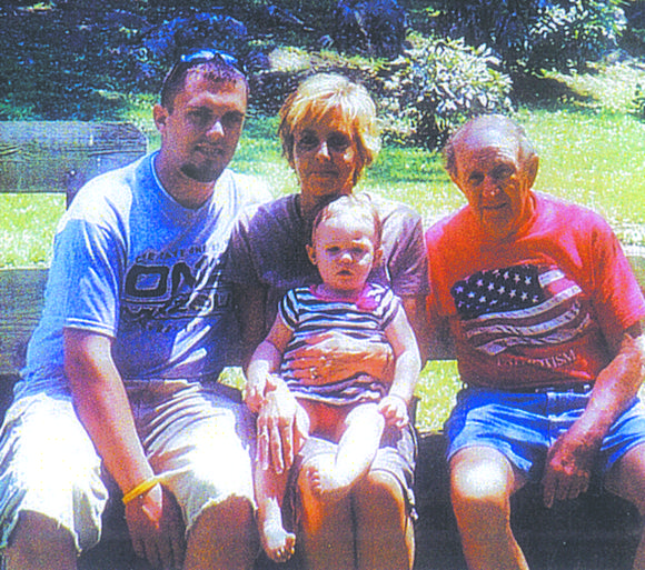 Four generations of the Bitner family