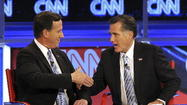 The long-awaited peace talks between Mitt Romney and his former rival Rick Santorum will take place Friday in Pittsburgh.