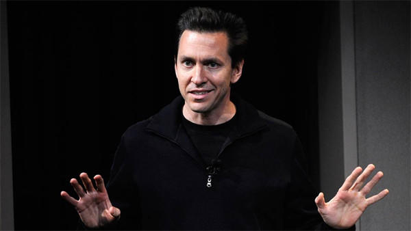 Scott Forstall on stage in 2011.