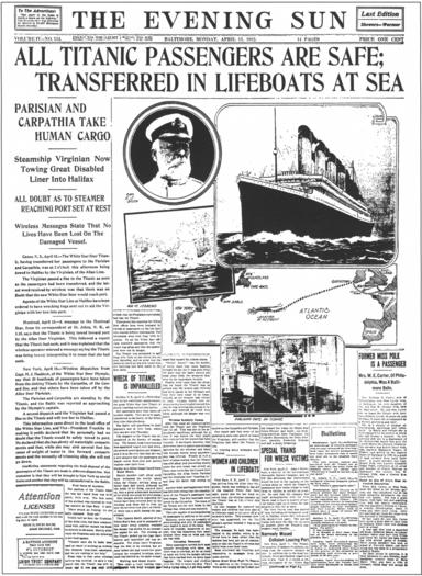 A Titanic error
