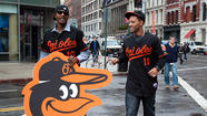 The Oriole bird spent the day taking over New York.