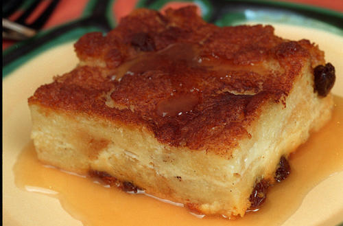 "What's a good party without a stiff drink? This boozy bread pudding with whiskey from Handlebars Food and Saloon can definitely throw back a couple of shots. And these little guys sure are sweet. <a href=""http://www.latimes.com/features/food/la-fo-sosbreadpudding-20101230,0,7456307.story"">Recipe</a>."