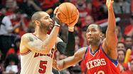 <strong>I'd like to beat up Carlos Boozer</strong> for the Bulls embarrassing loss to Philadelphia in Game 2 of a playoff series that is useless in the big picture and even the small picture. I'd like to beat up Boozer because Boozer is responsible for every Bulls loss, right?