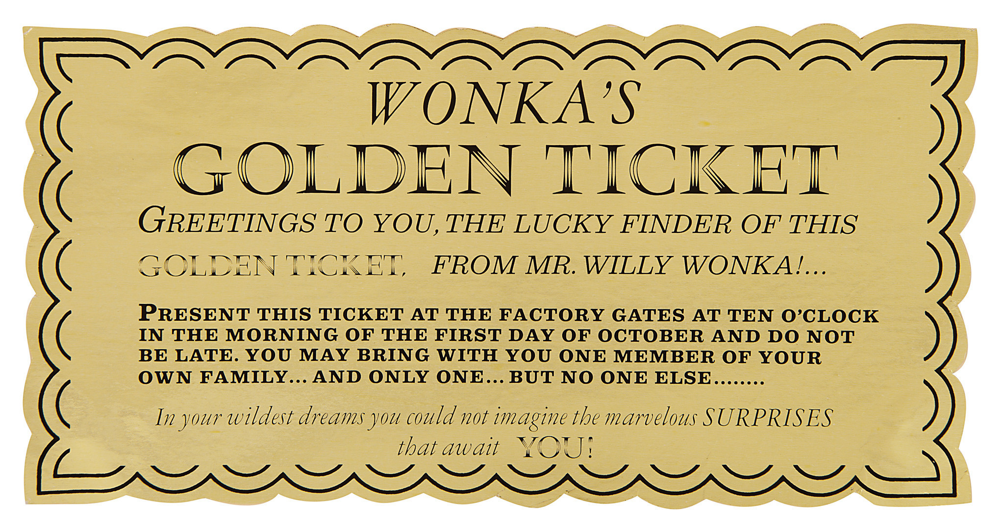 willy wonka golden ticket redeyechicagocom