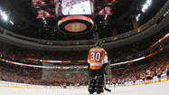"Anyone seeking to blame Flyers goalie Ilya Bryzgalov for Philadelphia's failure on Tuesday night must have been watching""Dancing With the Stars"" or something else on the tube."