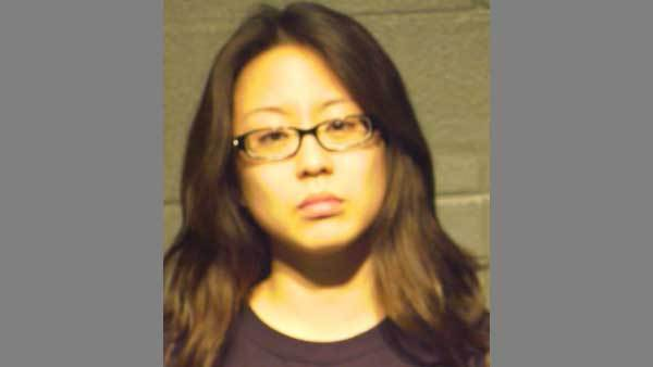 Booking photo of Christine Ahn