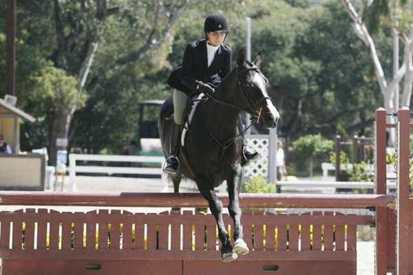 Contestants participate at the Flintridge La Canada Guild's annual horse show on Saturday.