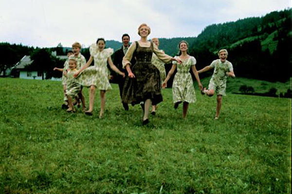 "Julie Andrews and the Von Trapp family captured the hearts of America and the Academy Award for best picture. It's the only musical in the top 10 (though Andrews starred in the next highest-earning musical, ""Mary Poppins,"" at No. 25.)"