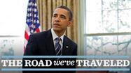 "<span class=""s1"">WASHINGTON (AP) — As slogans go, President Barack Obama's promise of the ""light of a new day"" in Afghanistan isn't nearly as catchy as the ""Mission Accomplished"" banner on the USS Abraham Lincoln the day President George W. Bush announced the end of major combat operations in Iraq in 2003.</span>"