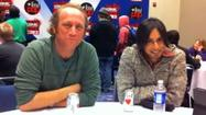 "Vik Sahay, Scott Krinsky of ""Chuck"" at C2E2"