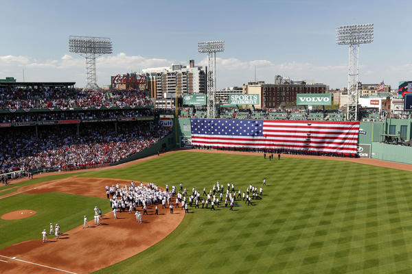 Fenway Park's 100th anniversary celebration.