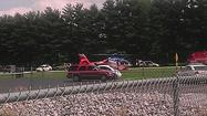 UPDATE: Moped driver airlifted after Goshen crash