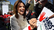 Minnesota Rep. Michele Bachmann has endorsed one-time Republican rival Mitt Romney for president.