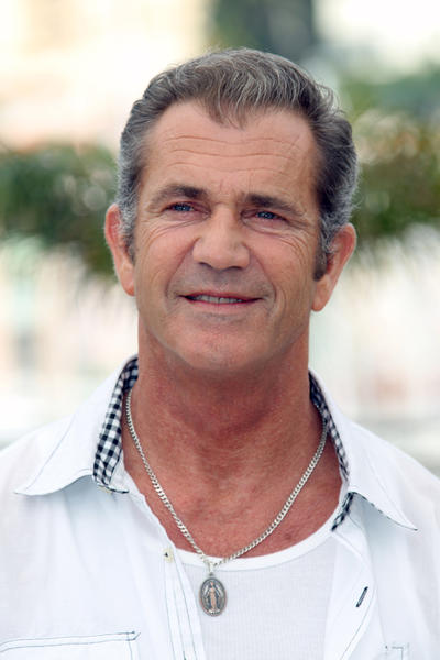 "Mel Gibson says he ""has a little bit of a temper."""