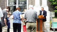 Photo Gallery: Prayer vigil at the court house