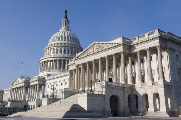 The U.S. Capitol building in Washington. A think tank's report details the difficulties in overhauling the tax code.