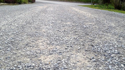 Lake Shore Drive, a 450-foot gravel road in Jennerstown, is set to be blacktopped this summer.