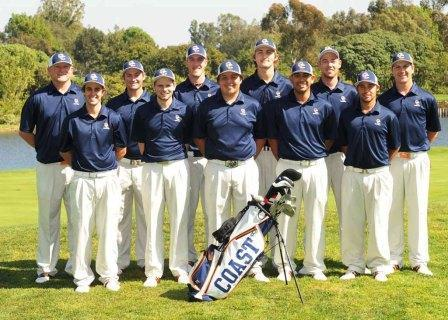 The Orange Coast College men's golf team won its third straight Orange Empire Conference title.