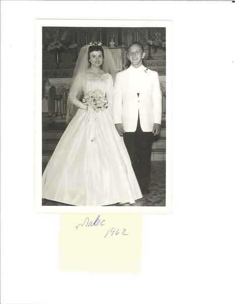 Mr. and Mrs. Ray Malec, 1962