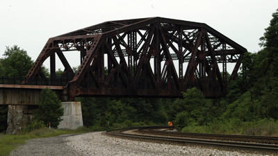 Keystone Viaduct on the Great Allegheny Passage in Somerset County.