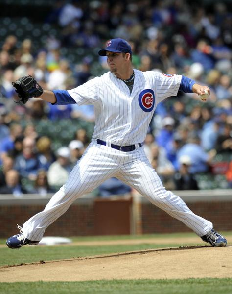 Cubs pitcher Paul Maholm faces the Dodgers Friday at Wrigley Field.