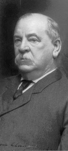 In what appears to be The Sun's first formal presidential endorsement, the paper backed Grover Cleveland in 1884. He was a conservative Democrat in a pragmatic mold that the paper's owners, the Abell family, appreciated. The Abells and the president eventually became close friends.