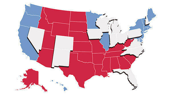 Pick the winner in 2012 battleground states and see who has the upper hand in the November election.