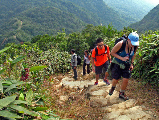 The legendary MacLehose Trail has 10 sections.