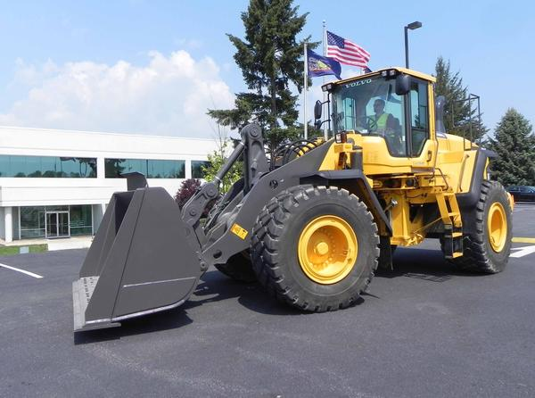 The new series of wheel loaders will be the first of three new machine types to come off the production line.