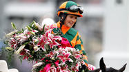 LOUISVILLE, Ky. — The red-headed girl who shocked Maryland horse racing with her daring debut in 2005 was coronated as an elite jockey Friday at Churchill Downs.