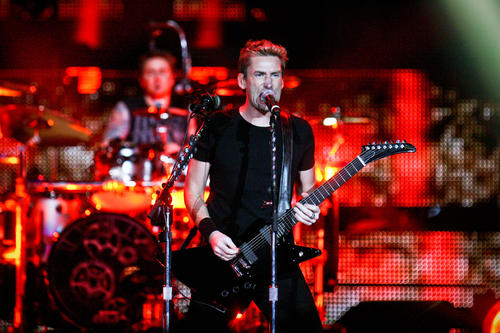 Nickelback performs in concert at Amway Center in Orlando, Fla. on Friday, May 04, 2012.