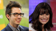 'Glee' stars within duet-singing distance of each other